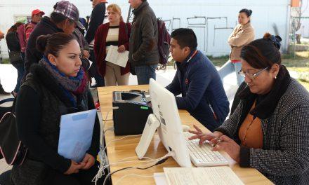 En Tizayuca llevan la Bolsa de Empleo a las comunidades