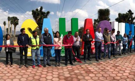 Ciudad Sahagún estrena letras donadas por industriales