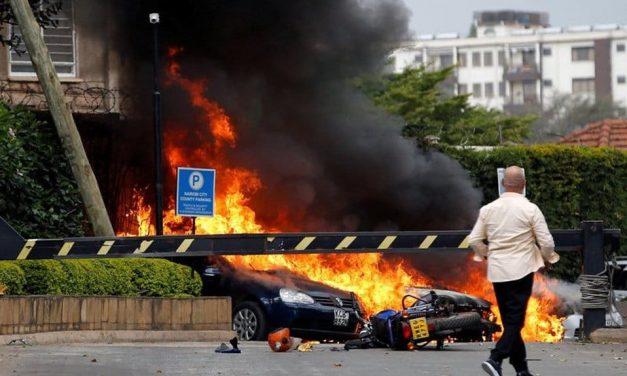 Explosión y tiroteo en Nairobi, Kenia
