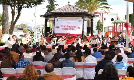 Santiago Tulantepec realizará Campaña Gratuita de Matrimonios Colectivos
