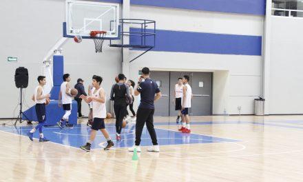 Preselecciones estatales de basquet, en clínica campus