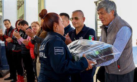 Alcalde de Tizayuca asegura que hay reducción de índices delictivos