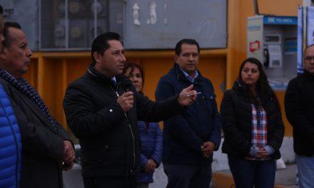 Entrega Raúl Camacho pavimentación en La Providencia