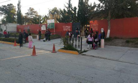 Operativo Escuela Segura en Tolcayuca concluye con saldo blanco