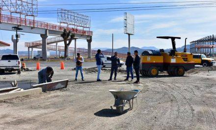 Alcalde de Zapotlán supervisa construcción del primer bulevar