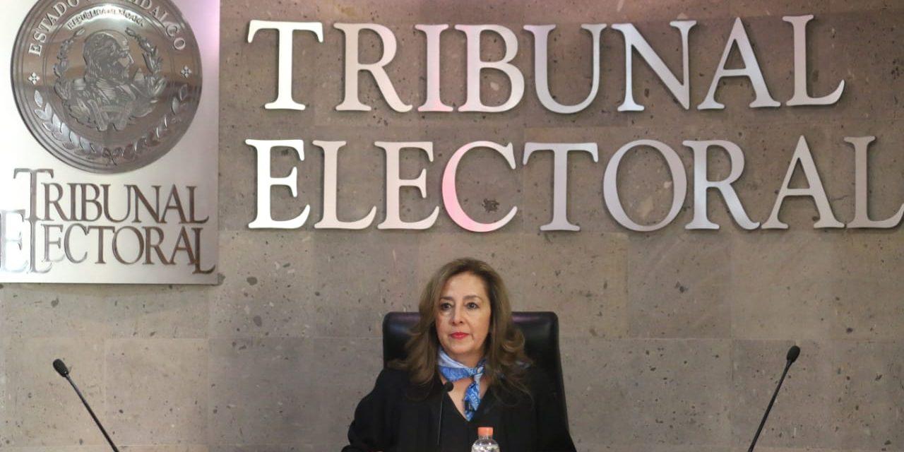 María Luisa Oviedo Quezada, primera mujer en presidir el TEEH