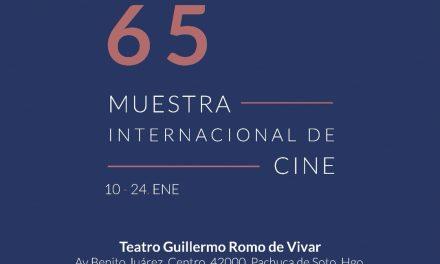 La Muestra Internacional de Cine llega a Pachuca en su edición 65