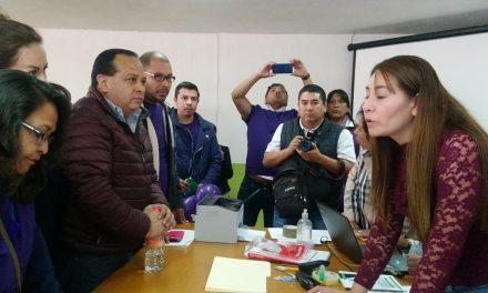 Víctor Cervantes busca reelegirse por cuarta ocasión como secretario general del SUTSPEEH