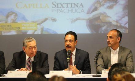 La Capilla Sixtina llegó a Pachuca, abre al público el 13 de enero
