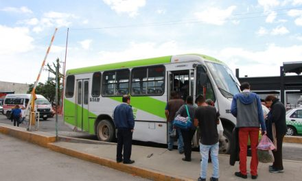 Garantizan servicio de trasporte público a pesar de la escasez de combustible