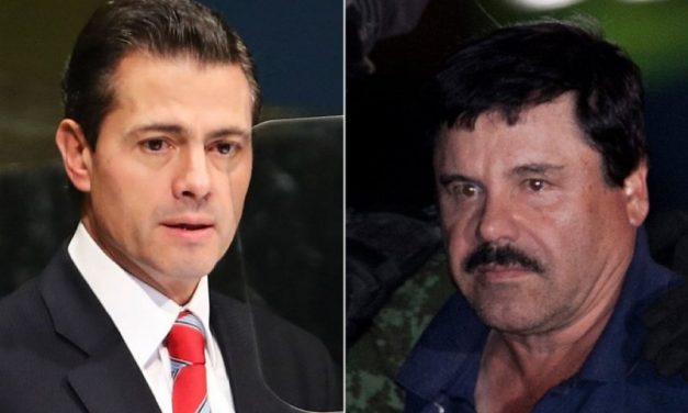 Un testigo acusó a EPN de recibir 100 mdd por parte de «El Chapo»