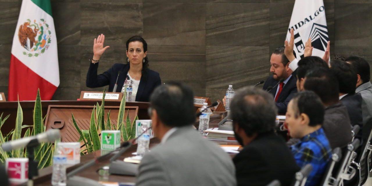 Acusan al IEEH de favorecer alianza de Morena con otros partidos