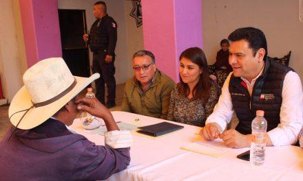 En La Misión Daniel Jiménez realizó audiencia pública