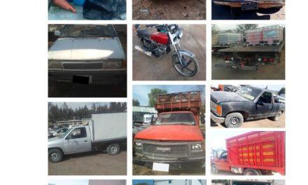 Recuperan 14 vehículos con reporte de robo
