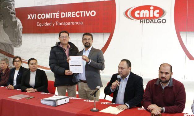 Contendientes a la presidencia de la CMIC presentan planes de trabajo