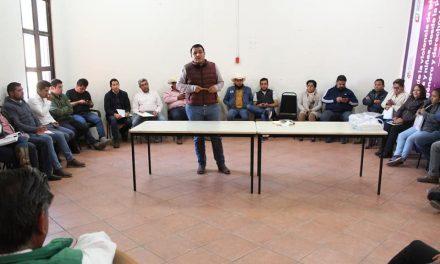 Alcalde de Zempoala se compromete a mejorar los servicios