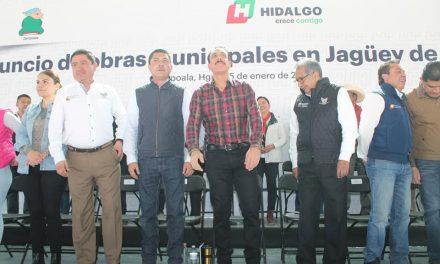 Alcalde de Zempoala se compromete a realizar más obras