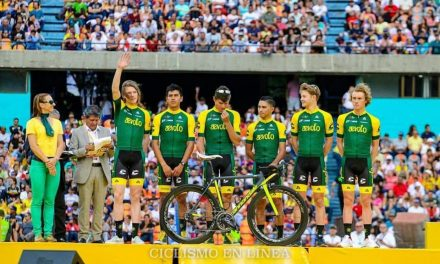 Fernando Islas en tercera etapa del Tour Colombia