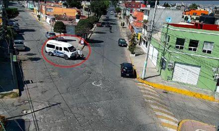 Tras monitoreo de videovigilancia atienden accidente en Santa Julia