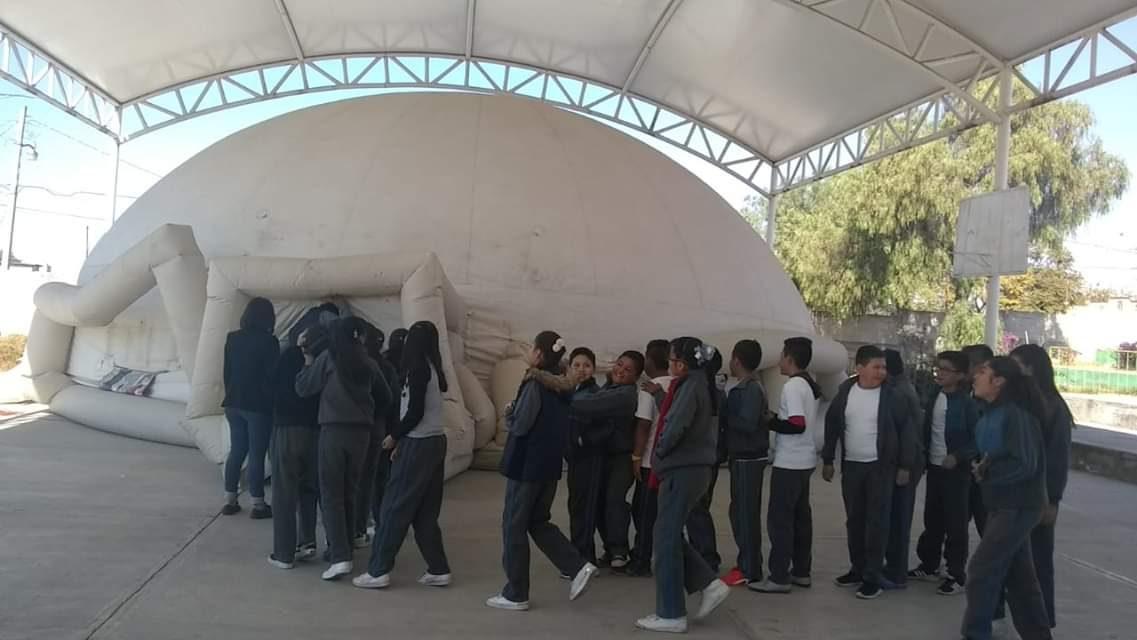 Domo Educativo atiende a niñez de Villa de Tezontepec