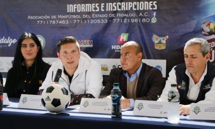 Hidalgo, padrino del Nacional de Mini Futbol 6