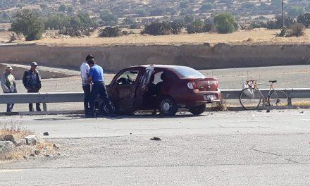 Reportan accidente en la Pachuca-Ciudad Sahagún