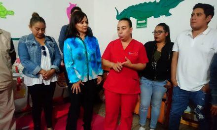 Nuvia Mayorga va por el «rescate» de programa de estancias infantiles