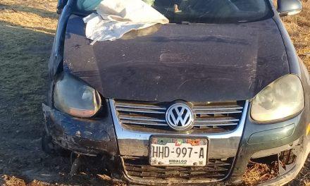 Se registra accidente en la México-Pachuca