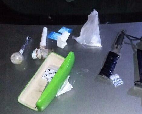 Asegura SSPH a cinco personas con probable droga sintética