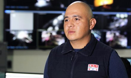 SSPH auxilia a usuaria del 911 con primeros auxilios