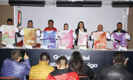 """Presentan tercera edición del Serial Atlético """"Dejando Huella en Hidalgo"""""""