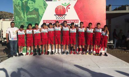 Hidalgo finalizó su participación en Festival Internacional de Minibaloncesto