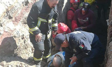 Muere hombre en derrumbe, en Tulancingo