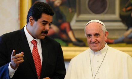 Maduro pide apoyo del Papa Francisco