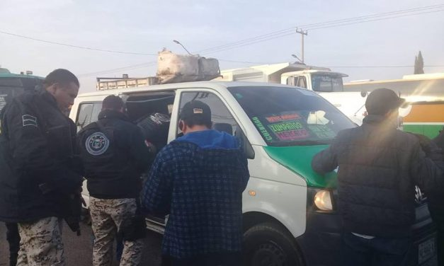 """Realizan operativo """"Rastrillo Metropolitano"""" en la región sur de Hidalgo"""
