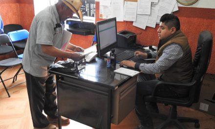 Buena respuesta al pago del predial en Tolcayuca