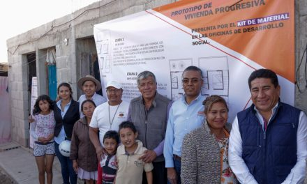 Implementan programa de Vivienda Progresiva en Tizayuca