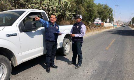 Rehabilitarán carretera intermunicipal de Zapotlán de Juárez