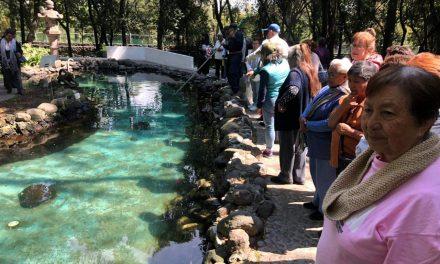 Personas de la Tercera Edad de Villa de Tezontepec realizan viaje recreativo