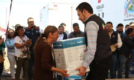 Secretario Ejecutivo de la Política Pública Estatal realiza gira de trabajo en Tizayuca