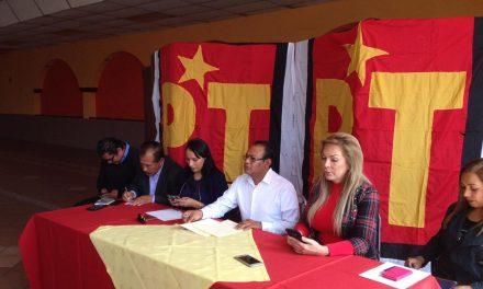 Denunciarán a seguidores de Aparicio por coordinadora espuria estatal del PT