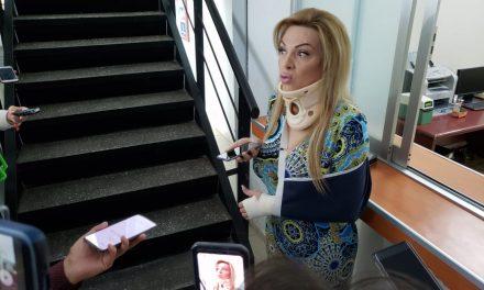 Diana Bayardo señala a Arturo Aparicio por atentado