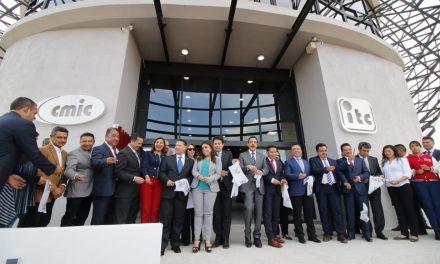Inauguran Centro de Investigación e Innovación Tecnológica CMIC Hidalgo