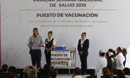 Inicia Primera Semana Nacional de Salud 2019