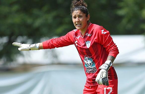 Alejandría Godínez debutó con el Tri