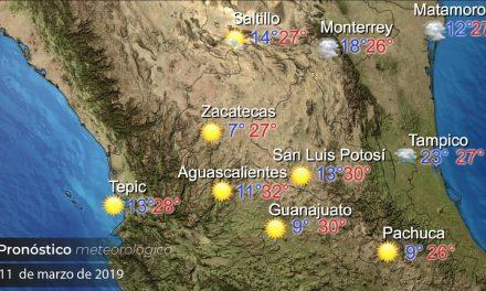 Continuará ambiente cálido en Hidalgo