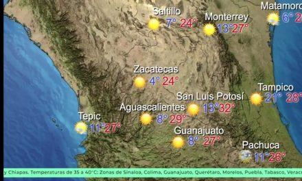 Continúa ambiente cálido; este viernes aumentan probabilidades de lluvia