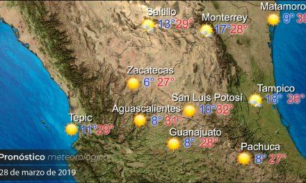 Ambiente cálido predominará en el estado este viernes