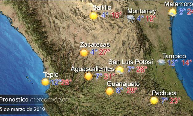 Se pronostica ambiente cálido para este fin de semana en Hidalgo