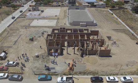 Autoridades estatales y municipales supervisan obras en Zempoala